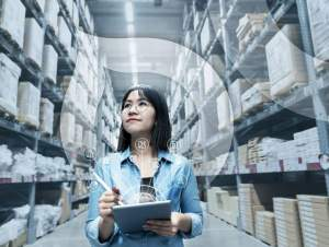 Pick and Pack Droplink Warehouse Manager Taking Inventory